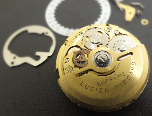 Lucien Piccard Cal 61 Or 01 Automatic Movement In Parts